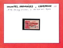 CAMEROUN  - Ex Colonies Francaises - N° 42  Neuf X   -  Cote Yvert 2015:28.00€ - (voir  Scan ) - Unused Stamps