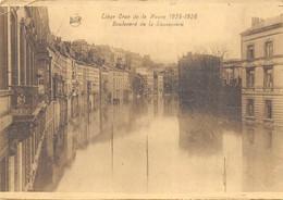 Liège - Crue - Boulevard De La Sauvenière - Liege