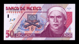 México 50 Pesos 1994 Pick 107a Serie D SC UNC - Mexiko