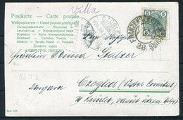 1906 Austria Postcard Franzensfeste - Marburg Railway TPO - Czegled - Covers & Documents
