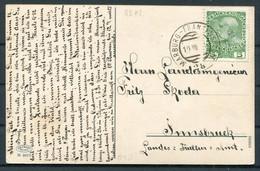 1906 Austria Schloss Heimfels Mit Panzendorf Im Pustertal, Tirol Postcard Marburg - Franzensfeste Railway TPO - Covers & Documents