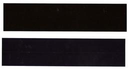 BANDE POCHETTE ID HAWID DOUBLE SOUDURE FOND NOIR 198 X 24 Mm HAVID - Clear Sleeves