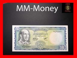 """Afghanistan 500 Afghanis 1967 P. 45   """"scarce Note""""  AU \ UNC -     [MM-Money] - Afghanistan"""