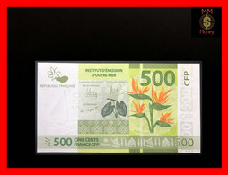 FRENCH PACIFIC TERRITORIES  500 Francs 2014   P. 5    UNC - French Pacific Territories (1992-...)