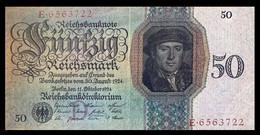 # # # Sehr Seltene Banknote Deutsches Reich 5 Rentenmark 1926 AU (!) # # # - 50 Mark