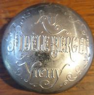 Boite Metalique AU FIDEL BERGER , VICHY - Boxes