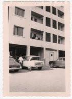 Photo Originale Auto CITROEN DS Et AMI 6 Architecture Immeuble Cité Nice - Automobili