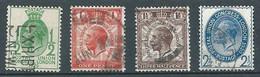Grande-Bretagne YT N°179/182 Union Postale Universelle Oblitéré ° - Usados
