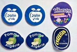 Fruit Label Sticker Algeria& Ecuator  Etichette Etiquette Etiquetas Adhesive - Frutas Y Legumbres