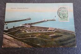 CPA - OSTENDE - L'entrée Du Port - 1909 - Oostende