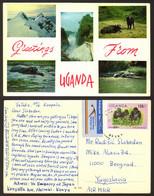 Uganda Animals Nice Stamp  #33062 - Uganda