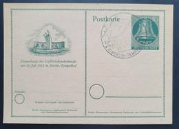 Berlin 1951, Postkarte P24 Sonderstempel - Cartoline - Usati
