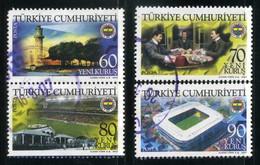 Turkey 2007 - Mi. 3580-83 O, Fenerbahce Spor Club | Fenerbahce Lighthouse | Former Sports Field | Football Stadium - Used Stamps