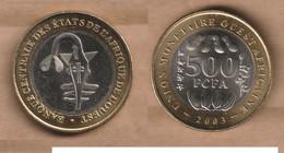AFRICA CENTRAL 500 Francs FCFA  2003 Bimetallic - Other - Africa