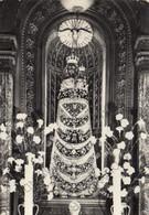 CARTOLINA  LORETO,ANCONA,MARCHE,VIRGO LAURETANA,BELLA ITALIA,RELIGIONE,IMPERO ROMANO,CULTURA,VIAGGIATA 1956 - Ancona