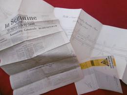 AUTOMOBILE CLUB & MOTO CLUB DU GARD PLAN ORIGINAL AVEC APPROBATION POUR LE GRAND PRIX AUTOMOBILE DE NIMES 1933 - Other Plans