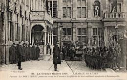 Tirailleurs Algériens Défilant Devant Le Roi Des Belges à Furnes, Automne 1914 - War 1914-18