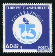 Turkey 2007 - Mi. 3598 O, Jubilee Emblem Of BSEC | 15. Year Congress Of Black Sea Economic Cooperation - Used Stamps