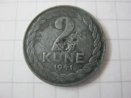 Croatia 2 Kune 1941 - Croatia
