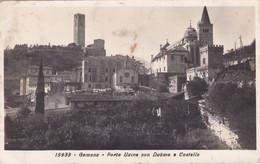 Gemona - Udine - Porta Udine Con Duomo E Castello Viaggiata 1930 - Udine