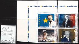 NB - [851597]TB//**/Mnh-RD Congo 2001 - Bd4, Cdf, Patrice Lumumba Charles De Gaulle, Neil Armstrong, Albert Schweitzer, - Nuovi