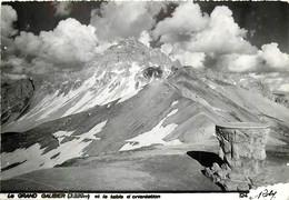 73 , Le Grand Galibier Et Table D'orientation , Photo ROBY , * M 24 14 - Unclassified