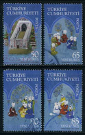 Turkey 2008 - Mi. 3650-53 O, 700th Anniv.of The Medical Centre Of Amasya | Scenes From The Early Days Of The Institution - Used Stamps