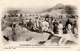 Maroc Avant 1914, Campement Des Tirailleurs Algériens Chez Les Béni-Snassen - Other Wars