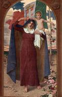 CPA - WW1 WWI Propaganda Propagande - CORCOS - Santa Maria Della Vittoria - Bandiera Italiana, Tricolore - NV - PV006 - Oorlog 1914-18