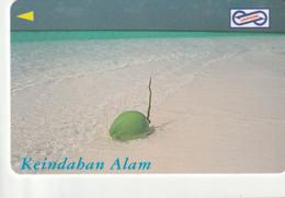 MALASIA. Keindahan Alam, Coconut. 1995. $10. 85MSAC. (055) - Malaysia