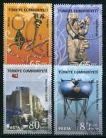 Turkey 2008 - Mi. 3654-57 O, Anatolian Civilizations - Urartians - Used Stamps