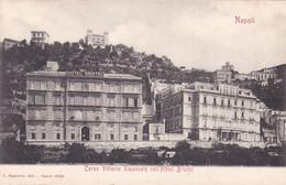 Napoli - Corso Vittorio Emanuele Coll'Hotel Bristol - Napoli (Napels)