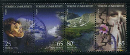 Turkey 2008 - Mi. 3679-82 O, World Environment Day, Global Warming - Used Stamps