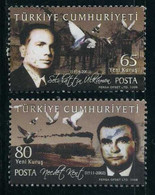 Turkey 2008 - Mi. 3683-84 O, Precedent For Humanity - Used Stamps
