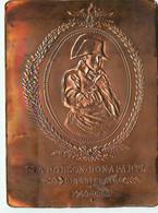 Carte En Cuivre , Relief Repoussé , édition Delage , Bicentenaire Napoléon Bonaparte , * M 26 93 - Storia