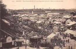 RENNES - Vue D'ensemble De La Foire Exposition Prise De L'Hôtel Du Cheval D'Or - Très Bon état - Rennes