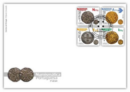 Portugal & FDC Portuguese Numismatic, II Group 2021 (1639) - FDC