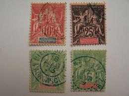 France Madagascar 1889-1939 Oblitérés Type Sage - Oblitérés