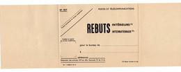 Document Interne La Poste Bande N°837 REBUTS - Documenti Della Posta