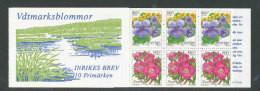 SUEDE 1998 - CARNET  YT C2043 - Facit H495 - Neuf ** MNH - Flore, Fleurs - 1981-..