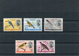 ETHIOPIA 1966 BIRDS MNH. - Etiopía