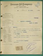 75 Paris Vacum Oil Compagny Magasins à Nantes, Alger, Anvers, Amsterdam, Las Palmas, Port Saïd, Le Caire, Cadix 1905 - Otros