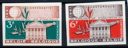 BELGIE  BELGIQUE  1191/1192  **   MNH - No Dentado