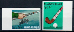 BELGIE  BELGIQUE  1547/48  **   MNH - No Dentado