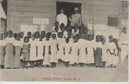 Guam.Islas Marianas, Village School - Guam