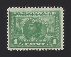 US #397 1913 Green WMK 190 Perf 12 Mint OG LH F-VF SCV $16.50 - Unused Stamps