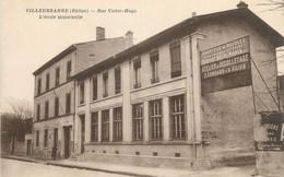 """CPA FRANCE 69 """" Villeurbanne, Rue Victor Hugo"""". - Villeurbanne"""