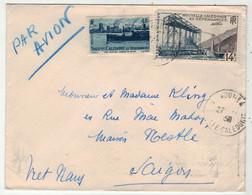 Nouvelle-Calédonie  // Lettre Pour Saigon - Storia Postale