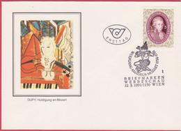 FDC 1991 - Mi 2021 (1) : 200. Todestag Von Wolfgang Amadeus Mozart , SST 1150 Wien - 1981-90 Covers
