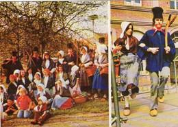 Cpm Flandre,Groupe Folklorique De M.J.C. Wasquehal - Personajes